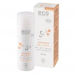 ECO Cosmetics Krem CC jasny SPF 50  z OPC, Q10 i kwasem hialuronowym  50ml