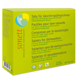 Sonett Tabletki do zmywarki 25 szt. 500 g Przecena: (wgnieciony kartonik)