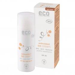 ECO Cosmetics Krem CC ciemny SPF 30  z OPC, Q10 i kwasem hialuronowym  50ml