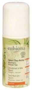 Eubiona Dezodorant roll-on dla aktywnych z rozmarynem i zieloną herbatą 50 ml