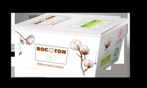 Bocoton  Patyczki kosmetyczno - higieniczne 200 szt. BIO