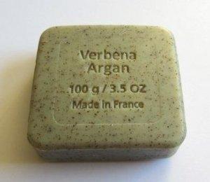 Savon du Midi Mydło peelingujące z olejem arganowym i werbeną 100 g