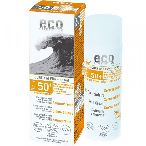 Eco Cosmetics Krem na słońce SPF 50+ SURF & FUN 50 ml