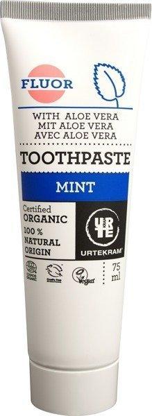 Urtekram Pasta do zębów z miętą i fluorem 75 ml