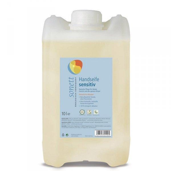 Sonett Mydło w płynie SENSITIV - 10 litrów (na zamówienie: 14-30dni)