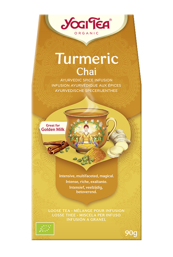 Yogi Tea Czaj z kurkumą TURMERIC CHAI
