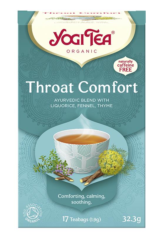 Yogi Tea Na gardło THROAT COMFORT