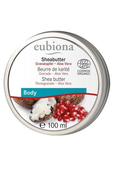 Eubiona Masło Shea z olejem z pestek granatu i aloesem 100 ml