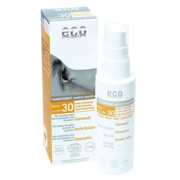 Eco Cosmetics Olejek na słońce SPF 30, 50 ml