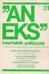 Aneks - kwartalnik polityczny. Nr 31.