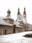 KRAKÓW - widok na kościół św. Andrzeja przy ul. Grodzkiej - fotografia widokowa.