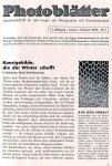 AGFA Photoblätter. Jg. 11, nr 1-6: I-XII 1934.