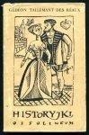 Tallemant des Reaux Gedeon - Historyjki. Obwolutę i ilustracje projektował Janusz Stanny.