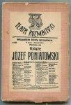 Hertz Jan Adolf - Książę Józef Poniatowski. Sztuka historyczna w 4-ch aktach.