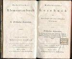 Gesenius Wilhelm - Hebraisches Lesebuch mit Anmerkungen und einem erklarenden Wortregister