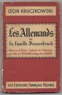 Kruczkowski Leon - Les Allemands ou la famille Sonnenbruch