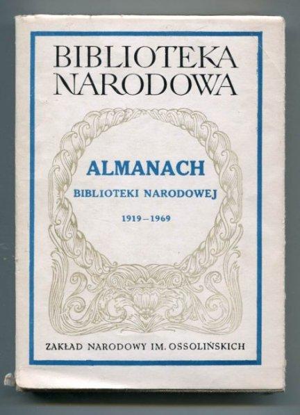 Almanach Biblioteki Narodowej.