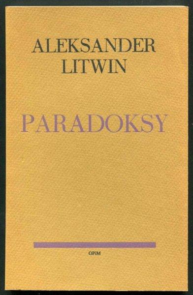 Litwin Aleksander - Paradoksy.