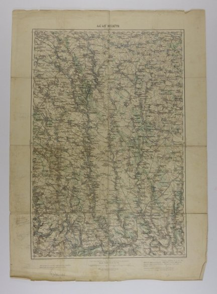 Husiatyn - mapa 1:200 000