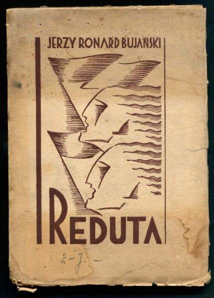 Bujański Jerzy Ronard - Reduta żywego słowa (Chorąży żywego słowa). [Projekt okładki Mieczysław Różański]