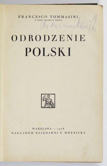 TOMMASINI Francesco - Odrodzenie Polski.