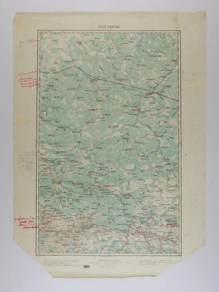 Rokitno - mapa 1:200 000