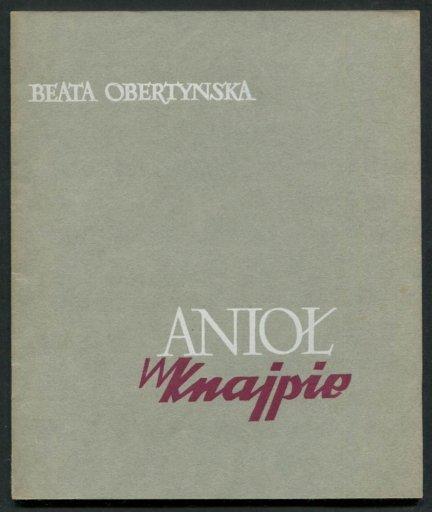 Obertyńska Beata - Anioł w knajpie.