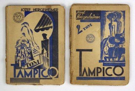 Hergesheimer Józef - Tampico. T. 1-2. Powieść meksykańska. Przekład z angielskiego B. Zan