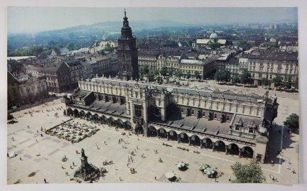 [Kraków - Sukiennice] - plakat fotograficzny