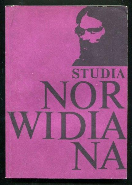 Studia Norwidiana 3-4
