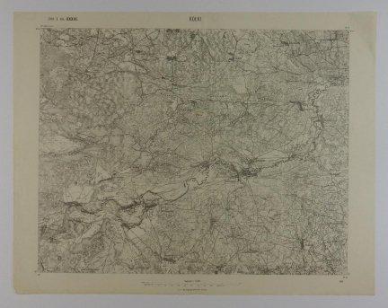 Kołki - mapa 1:75 000