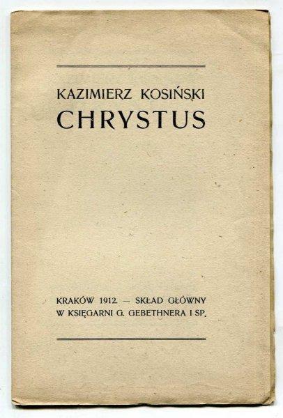 Kosiński Kazimierz - Chrystus.