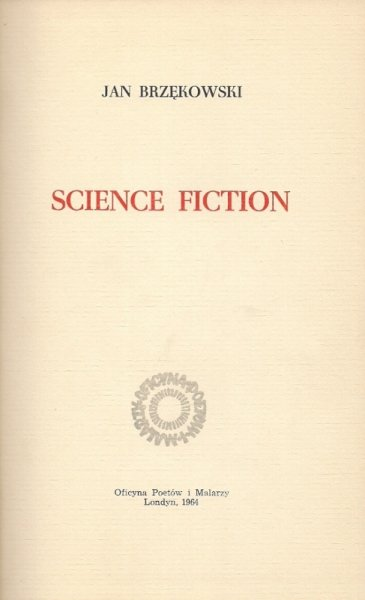 Brzękowski Jan - Science Fiction.