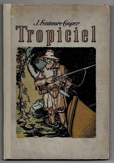 COOPER James Fenimore - Tropiciel.  Ilustacje w tekście R. Winklera.