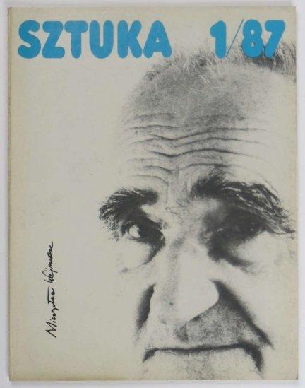 Sztuka. Dwumiesięcznik. 1/87. [Na okładce Mieczysław Wejman]