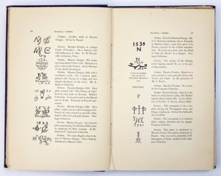 CHAFFERS W[illiam] - Marks and Monograms on Pottery and Porcelain, with short historical notices of each manufactory, and introductory essay on the Vasa Fictilia of England by ... Illustrated with nearly a thousand woodcuts.