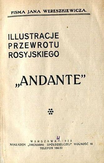 WERESZKIEWICZ Jan - Andante