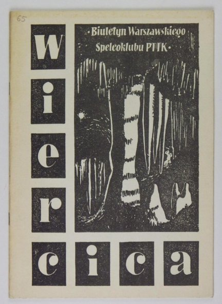[Speleologia]. Wiercica. Nr 65 (77). XII 1989.