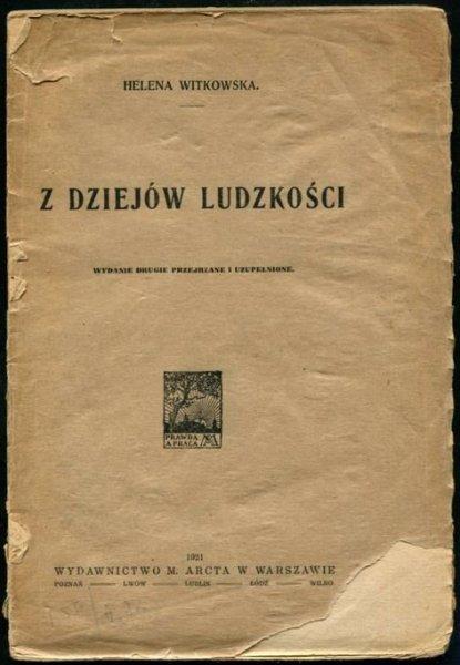 Witkowska Helena - Z dziejów ludzkości.