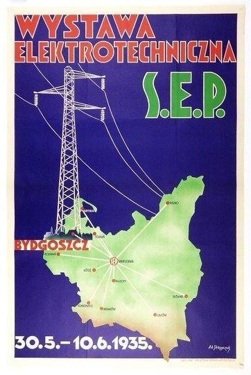 Skrzypczak P.A. - Wystawa Elektrotechniczna S. E. P. 1935