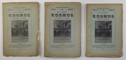 Kosmos. Czasopismo Polskiego Towarzystwa Przyrodników im. Kopernika. Serja A - Rozprawy. R. 62: 1937, z. 1-3