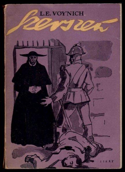 Voynich L.E. - Szerszeń. Ilustrował Andrzej Jurkiewicz. Okładkę projektował Jan Hollender.