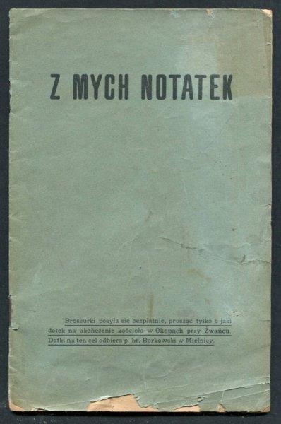 [Adamski Wojciech] - Z mych notatek.