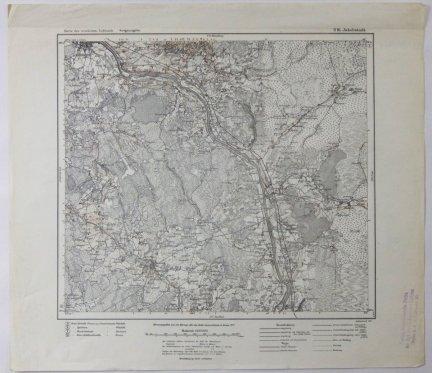 S16. Jakobstadt - mapa 1:100 000 [Karte des westlichen Russlands]