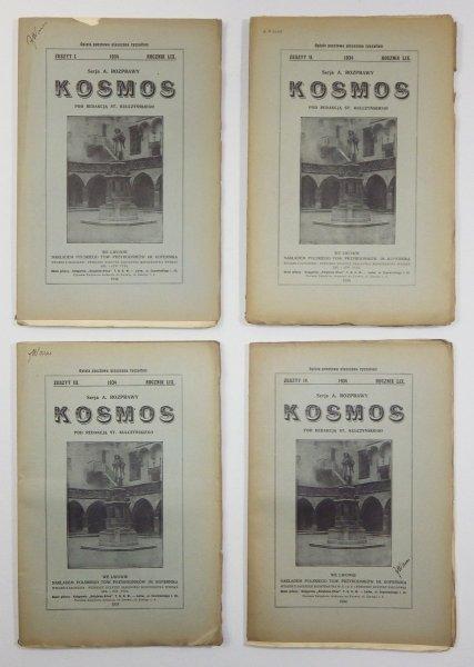 Kosmos. Czasopismo Polskiego Towarzystwa Przyrodników im. Kopernika. Serja A - Rozprawy. R. 59: 1934, z. 1-4