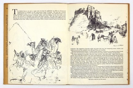 TOPOLSKI Feliks - Topolski's Chronicle for Students of World Affairs. Drawings by ... Text by John Roddam.