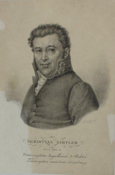 Girtler Sebastyan - portret [litografia]