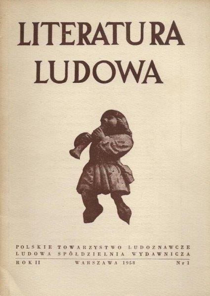 Literatura ludowa. Dolny Śląsk. R. 2, nr 1.