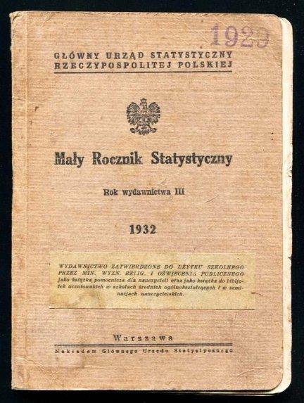 Mały rocznik statystyczny 1932