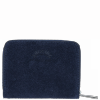 Portfel Skórzany VITTORIA GOTTI Made in Italy Granat